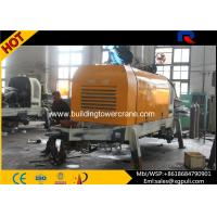 China Mini Cement Mixer Trailer Cylinder Diameter 0.2M With PLC Control wholesale