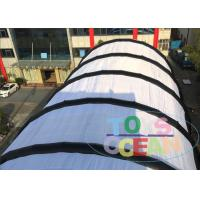 China Large Sport Court Exhibition Show Inflatable Tents , WaterProof Football Soccer Field Tent On Grass wholesale