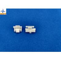 China wafer connector, CI14 Wire to board connectors pitch 1.00mm 180°single row  wafer with lock wholesale