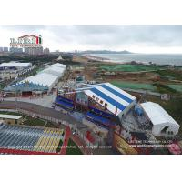 China 18m Width Shape Roof Outside Tents For Parties / Movable Beer Festival wholesale