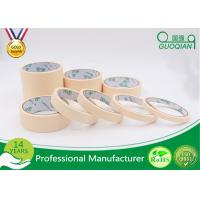China 140 Mic Normal Color Crepe Automotive Masking Tape Adhesive 48mm*50m wholesale