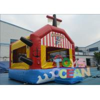 Quality Red Giant Bouncy Castles For Toddlers / Fun Sports Combo Bounce House for sale