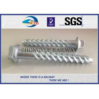 China ASTM Standard Hot-Dip Galvanized Spiral Spikes,screw spikes, dog spikes wholesale