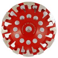 China T Shape Segment Diamond Cup Grinding Wheels for Concrete floor grinding on sale