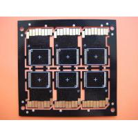 China HDI multilayer pcb gold plating for High Frequency Devices TUV , UL wholesale
