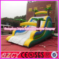 China Classical Jungle Themed Inflatable Dry Slide wholesale