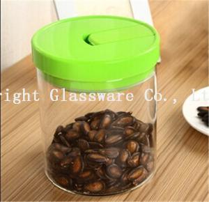 China big storage jar with plastic lid sale wholesale