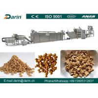 China JINAN DARIN Pet Food Extruder Fish Pellet Production Line 5300 x 1100 x 2300mm wholesale