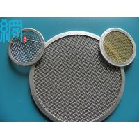 China Rimmed Multi-Layers Stainless Steel Extruder Filter Mesh Packs wholesale