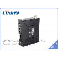 Wholesale AGV / UGV 2W UHF COFDM Video Transmitter With AES256 Encryption H.264 Video Compression from china suppliers