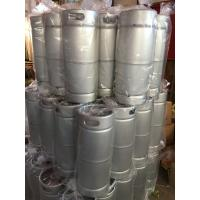 China 20L US keg stainless steel keg 5gallon keg for brewing, wine, beverages storage wholesale