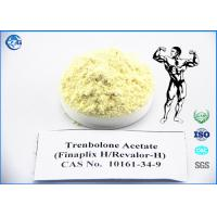 China Yellow Raw Powder Steroids 10161 34 9 Trenbolone Acetate For Bodybuilding wholesale