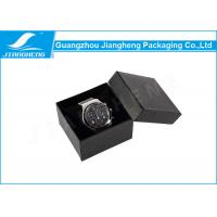 China Luxury Small Watch Gift Boxes Paperboard With Soft Velvet Pillow Insert wholesale