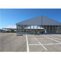 China 25m * 30m Permanently Installed Glass Wall Tents For Commercial Ceremony wholesale
