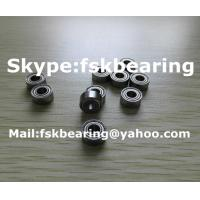 China Inched R24ZZ Miniature Ball Bearing Single Row Chrome Steel SKF / RHP wholesale