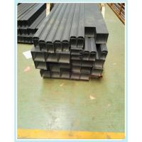 China 6063 T5 Square Aluminium Channel Profiles Aluminum Extrusion Tube for Railway Channel wholesale