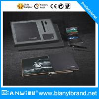 China Gift set with leather Pen/Name card holder in gift box wholesale