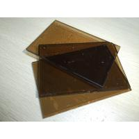 China Glass Building Material Laminated 6mm Brown Tempered Glass For Hpme Decorative wholesale