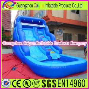 China Mini Backyard Inflatable Water Slide wholesale