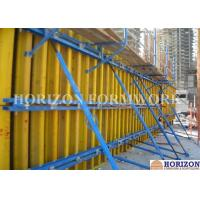 China Shear Wall Formwork Systems , Vertical Concrete Wall Formwork I Joist Beam wholesale