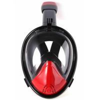 China Easy Breathe Diving Full Face Mask 180 Degree View Natural Air Flow wholesale