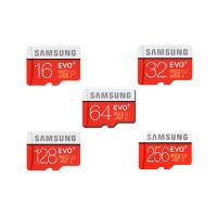 China SAMSUNG 16GB 32GB 64GB 128GB 256GB Micro SD SDHC SDXC Card Class10 EVO PLUS wholesale