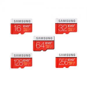 China SAMSUNG 16GB 32GB 64GB 128GB 256GB Micro SD SDHC SDXC Card Class10 EVO PLUS wholesale