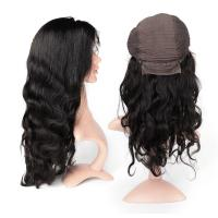 China Body Wave Swiss Human Hair Lace Front Wigs No Shedding No Tangle wholesale