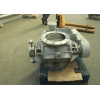 China Food Industry Self Cleaning DN50 Rotary Valve With Motor Reducer wholesale