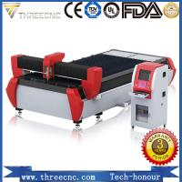 Buy cheap Fiber laser IPG 1000W laser cutting machine for sale. TL1530-1000W THREECNC from wholesalers