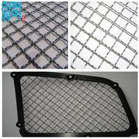 China 316 Stainless Steel Wire Mesh For Car Grilles/Car Front Grill Covers wholesale