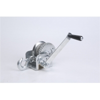 China Hand winch portable heavy steel cable manual winch 600lbs for boat sale wholesale wholesale