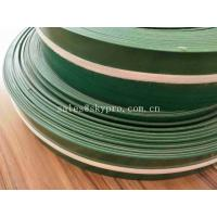 China Non - Skid 1mm PVC Conveyor Belt Industrial Conveyor Belts With Skirt Sidewall wholesale