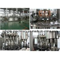 China Electric Driven Beverage Juice 3-in-1 Automatic Filling Machine (CGFR) wholesale