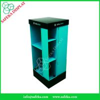 Quality 4 side Paper material shelf cardboard point of sale supermarket shelf stand for sale
