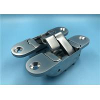 China Pearl Chrome 3D Adjustable Concealed Hinges 180 Degree Concealed Door Hinge on sale