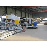 Mitsubishi PLC PU Sandwich Panel Production Line 380V 3 Phase for Cold Storages