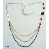 China OEM / ODM Jewelry Display Trays Chain Mixed Metal Necklace for Anniversary, Engagement wholesale
