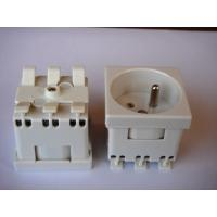 Buy cheap Grounding French Electric Plug , Safety France Power Outlet For Wall Wholesale from wholesalers