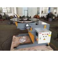 Quality Automatic Welding Positioners 3 Ton Tilting / Rotation Capacity CE Oil - free Gearbox for sale