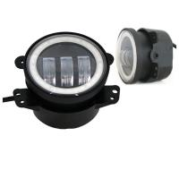 China DOT SAE approved for 4 inch Jeep Fog Light With Day Running Light made in Guangzhou good price wholesale
