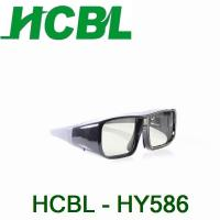 Fashion Universal Active Shutter 3d TV Glasses Comaptible IR / BT For Theater