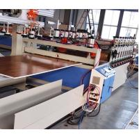 China PVC WPC Hollow Door Board Wood Plastic Composite Extrusion Line / Production Line Double Screw wholesale