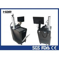 Quality Air Cooling UV Laser Automatic Marking Machine For Plastic High Grade Precision for sale