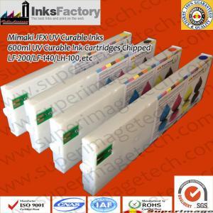 China Mimaki Jfx 600ml UV Curable Ink Cartridges wholesale