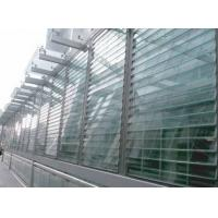 China White Outside Glass Shutter Window Powder Coating 1.4 mm Thickness For Ventilation wholesale