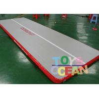 Quality Strong 0.55mm PVC Inflatable Gymnastics Air Track For Kids Gym Sport Training for sale