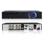 China 1 * 4 SATA HDD 8 Channel Hybrid Dvr , Security Cctv Dvr Recorder H.264 NVR wholesale