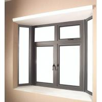 China 6060 Aluminum Window Extrusion Profiles For Side Hung Opening Casement Window wholesale