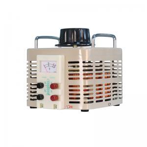 China AC Single Phase TDGC2J-5K Analog Meter Display Voltage Regulator wholesale
